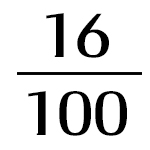 16x100